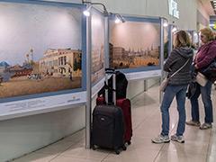"""Открылась выставка """"Виды Москвы"""" к 870-летию столицы"""