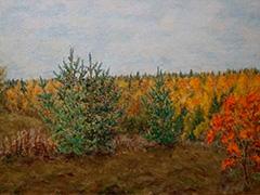 Персональная выставка живописи Валерия Селивёрстова