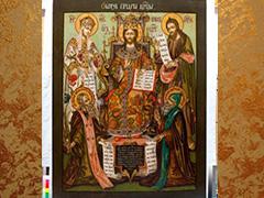 """Выставка """"Предивное художество"""". Иконы из собрания Григория Лепса."""