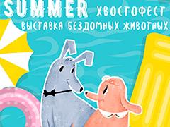 Выставка бездомных животных «Summer! Хвостофест»
