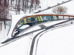 В парке Олимпийской Деревни открывается лыжная база