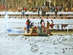 В 9 московских парках организуют крещенские купания