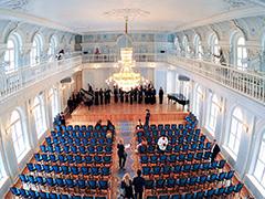 Завершается реставрация Рахманиновского зала Московской консерватории
