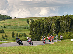 Четвёртый этап чемпионата по Российскому супербайку прошёл 22 июля