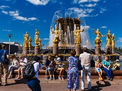 Поток иностранных туристов на ВДНХ увеличился в 1,5 раза