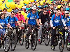 Около 20 тысяч человек стали участниками осеннего велопарада