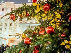 """Площадки фестиваля """"Путешествие в Рождество"""" украсят более 1100 елок"""