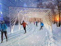Памп-трек и биатлонный стадион: как изменится парк 850-летия Москвы