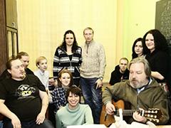 """25 лет гитарной школе бардовской песни """"Ходынка"""""""