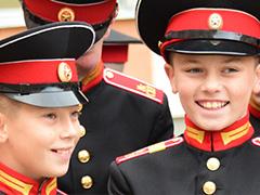 Новогоднее поздравление Московских суворовцев