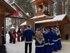 Дети из детских домов побывали на родине Деда Мороза!