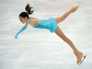 Москвичка выиграла золото Гран-при по фигурному катанию