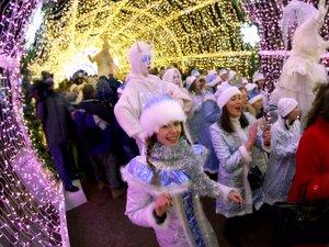 Новый год Москва