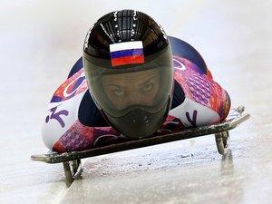 Скелетонистка из Москвы Елена Никитина