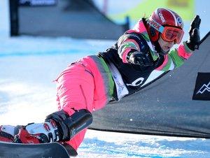 Столичная сноубордистка Екатерина Тудегешева