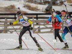 Московский биатлонист Кирилл Стрельцов в составе эстафеты выиграл золото первенства мира