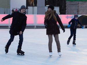 катанию на коньках Сокольники Москва