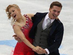Московские фигуристы завоевали первые места