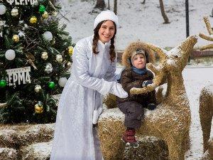 Торжественное открытие зимнего и новогоднего сезона на «Городской ферме»